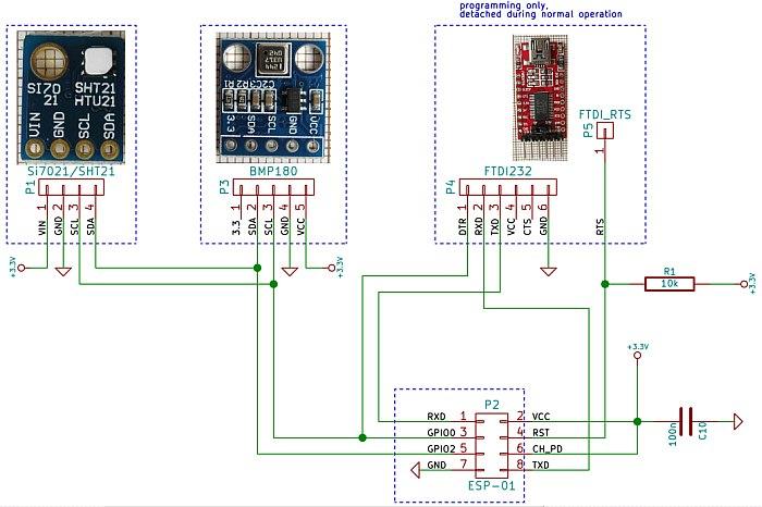 programming esp8266 with gcc